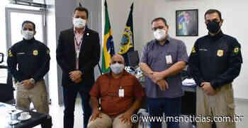 Superintendente da PRF/MS recebe o prefeito de Ribas do Rio Pardo - MS Notícias