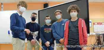 """Saint-Valery-en-Caux. Ils ont participé aux Olympiades des sciences : """"Une belle expérience"""" - Le Courrier Cauchois"""