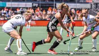 Deutsche Hockey-Frauen: Über Italien ins EM-Halbfinale - sportschau.de