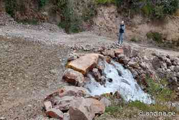 Ayacucho: ANA identifica puntos críticos en parte alta de cuenca Ocoña - Agencia Andina