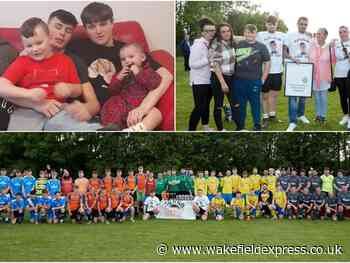 Callum Cunningham: Devastated family and friends remember Wakefield teen at football tournament - Wakefield Express