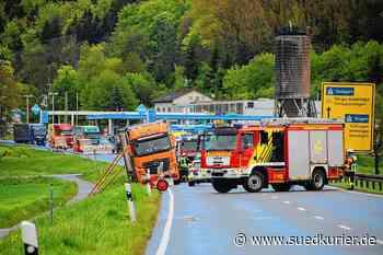 Blumberg: Nach dem Lkw-Unfall bei Blumberg: Der Schwarzwald-Baar-Kreis Landkreis lehnt eine zweite Leitplanke an der B 27 weiter ab - SÜDKURIER Online