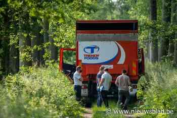 Chauffeur sigarettentransport gegijzeld en opgesloten in laadruimte vrachtwagen