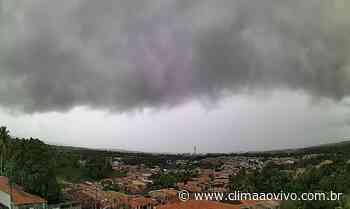 Avanço de chuva em Saubara/BA, confira o vídeo exclusivo - Clima ao Vivo