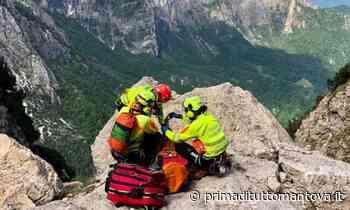 Alpinista di Castiglione delle Stiviere precipita in montagna, è in gravi condizioni - Prima Mantova