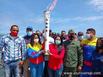 Puerto La Cruz recibió la Antorcha Bicentenaria en paseo de la Cruz y del Mar - El Universal (Venezuela)