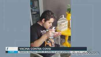 Após pedido de advogado de Araraquara, Estado reconhece direito de autistas no grupo prioritário de vacinação - G1