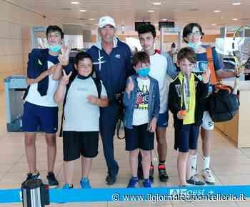 Il Circolo Tennis Pantelleria protagonista a Trapani: I posto nel singolo con Matteo Marino e II posto nel torneo di squadra - Il Giornale Di Pantelleria