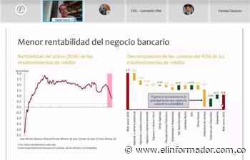 Banco de la Republica presentó el Reporte de Estabilidad Financiera del primer semestre de 2021 - El Informador - Santa Marta