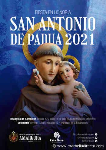 La Amargura conmemora la festividad de San Antonio de Padua con una misa en su honor y una recogida de alimentos - Marbella Directo
