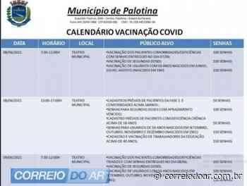 Profissionais da Educação com 40 anos serão vacinados em Palotina - Correio do Ar