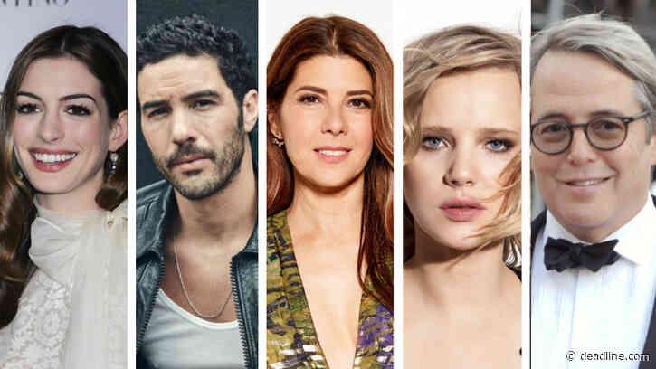 Anne Hathaway, Tahar Rahim, Marisa Tomei, Joanna Kulig & Matthew Broderick Board Rom-Com 'She Came To Me' – Cannes Market - Deadline