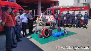 Bombeiros Voluntários do Entroncamento recebem equipamentos de proteção e socorro - Bombeiros.pt - Bombeiros Portugueses