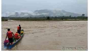 Cubará anuncia alerta naranja por creciente súbita del río Arauca - Caracol Radio