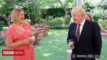 Covid lockdown teacher Holly King-Mand meets Boris Johnson