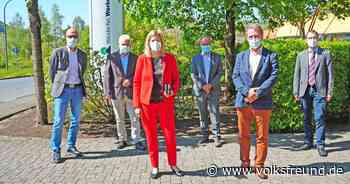 Neue Landrätin Julia Gieseking besucht Westeifel-Werke in Gerolstein - Trierischer Volksfreund