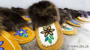 11 elders in Norman Wells receive custom-made moccasins from artists - CBC.ca