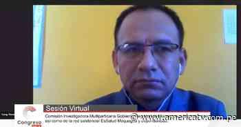 Congreso: Consejeros de la región Moquegua denuncian irregularidades en el manejo de la pandemia - América Televisión