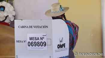 En centro poblado en Moquegua, Keiko Fujimori tampoco tuvo algún voto - LaRepública.pe