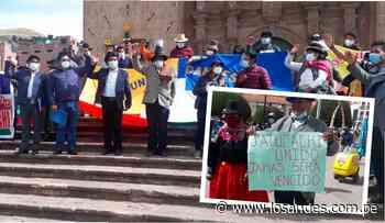 Moquegua invade territorio puneño – Los Andes - Los Andes Perú