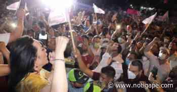 El pueblo decidió: gobernará en Nuevo Laredo Carmen Lilia Canturosas - NotiGAPE - Líderes en Noticias
