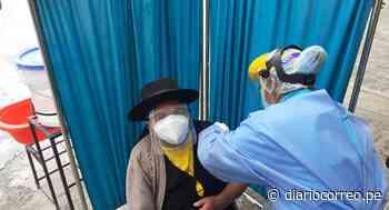 Huancavelica: Comienza la aplicación de la segunda dosis contra el coronavirus a mayores de 60 años - Diario Correo