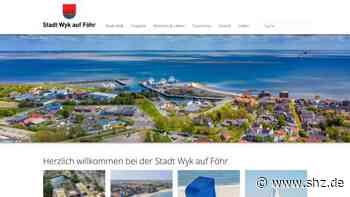 Strandkörbe online buchen: Die Stadt Wyk auf Föhr hat eine neue Internet-Seite | shz.de - shz.de