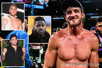 Five fights for Logan Paul after Floyd Mayweather including Chris Hemsworth, his brother Jake and shock... - The Sun