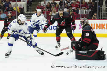 Stanley Cup Playoff capsules: Tampa Bay eliminates Carolina, advances to semifinals - West Hawaii Today