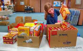 Cereal Challenge Collects 628 Boxes for West Bay Marketplace   WarwickPost.com - Warwick Post
