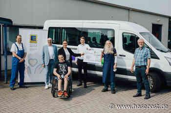 Gute Nachricht des Tages: EDEKA Minden-Hannover Stiftung spendet rund 5.340 Euro an Krebshilfe und Heilpädagogische Hilfe in Osnabrück | hasepost.de - HASEPOST