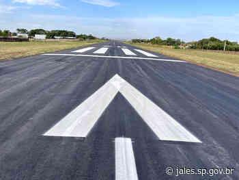 Prefeitura conclui reforma da pista do Aeroporto de Jales – Jales - Saúde – Prefeitura Municipal de Jales