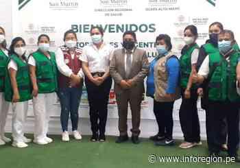 San Martín: Resaltan labor de agentes comunitarios de salud en Moyobamba - INFOREGION