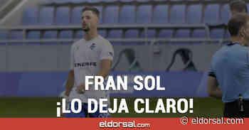 """Fran Sol: """"Suso Santana quería seguir en el CD Tenerife"""" - eldorsal.com"""
