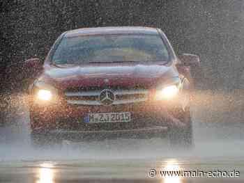 Schwerer Unfall bei Platzregen auf A3 bei Marktheidenfeld - Main-Echo