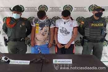 Capturados con armas de fuego en Girardot, Cundinamarca - Noticias Día a Día