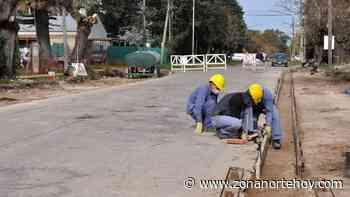 Siguen las obras de transformación de la Avenida Belgrano, en Los Cardales - zonanortehoy.com