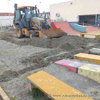 Navegantes investe em construções e reformas para melhorar estrutura do esporte - Prefeitura de Navegantes