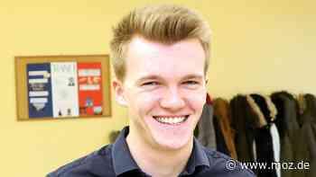 Wahlen 2021: Student Luca Piwodda aus Gartz bei Schwedt kandidiert bei den Landtagswahlen in Mecklenburg-Vorpommern - moz.de