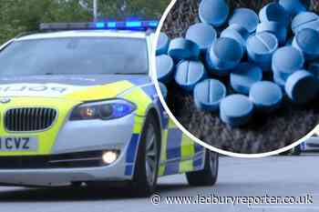 Man was caught with sedatives in Hereford