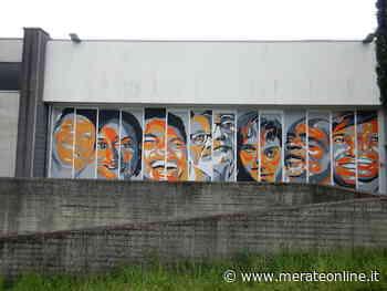 Merate: la street art degli studenti di Viganò e Agnesi e sui muri i volti di Bartali, Muhammad Alì, Ilaria Cucchi - Merate Online