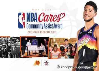 DEVIN BOOKER RECEIVES MAY NBA CARES COMMUNITY ASSIST AWARD