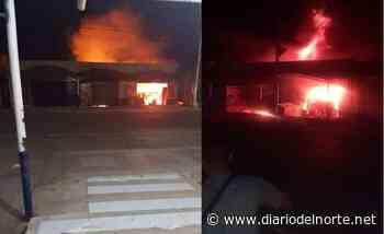 Tienda Carbón de Oro se incendió, en Hatonuevo - Diario del Norte.net