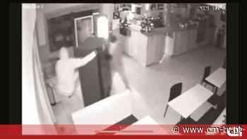 Gang assalta café em menos de dois minutos em Leiria - CMTV