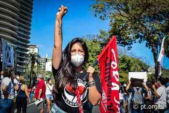Camila Moreno: Não dá pra parar um rio, quando ele corre pro mar! - Partido dos Trabalhadores