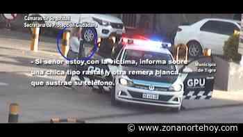 El Talar: dos pungas robaron un celular arriba de un colectivo y el COT logró interceptarlas - zonanortehoy.com