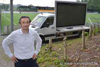"""Drie grote schermen om EK te volgen: """"Met viergangenmenu of op terras met dj"""""""