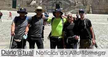Bárbaros Trekking Team percorreram Caminho Frânces de Santiago a pé - Diario atual