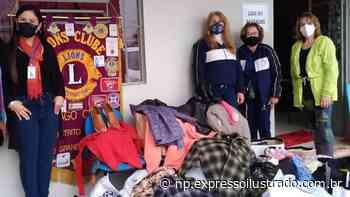 Campanha do Agasalho do Lions Clube Santiago Centro - Jornal Expresso Ilustrado