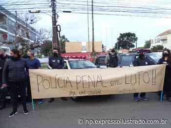 Protesto em Santiago pelo agente penitenciário morto durante resgate de preso em Caxias - Jornal Expresso Ilustrado